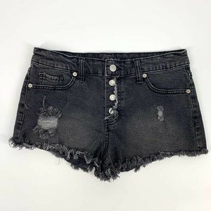 Wild Fable High Rise Distressed Denim Shorts